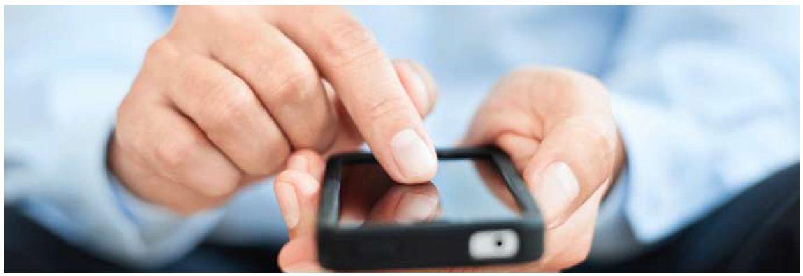 Imagebild Smartphoneabfrage